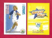 Blackburn Rovers Robbie Savage Wales (SO07)